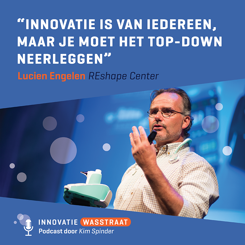 Lucien Engelen InnovatieWasstraat