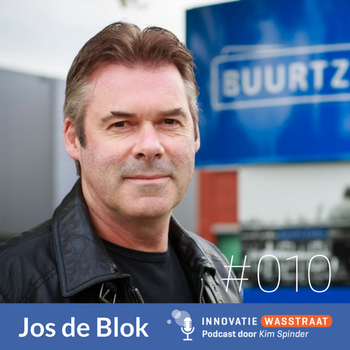 Jos de Blok in de Innovatie Wasstraat
