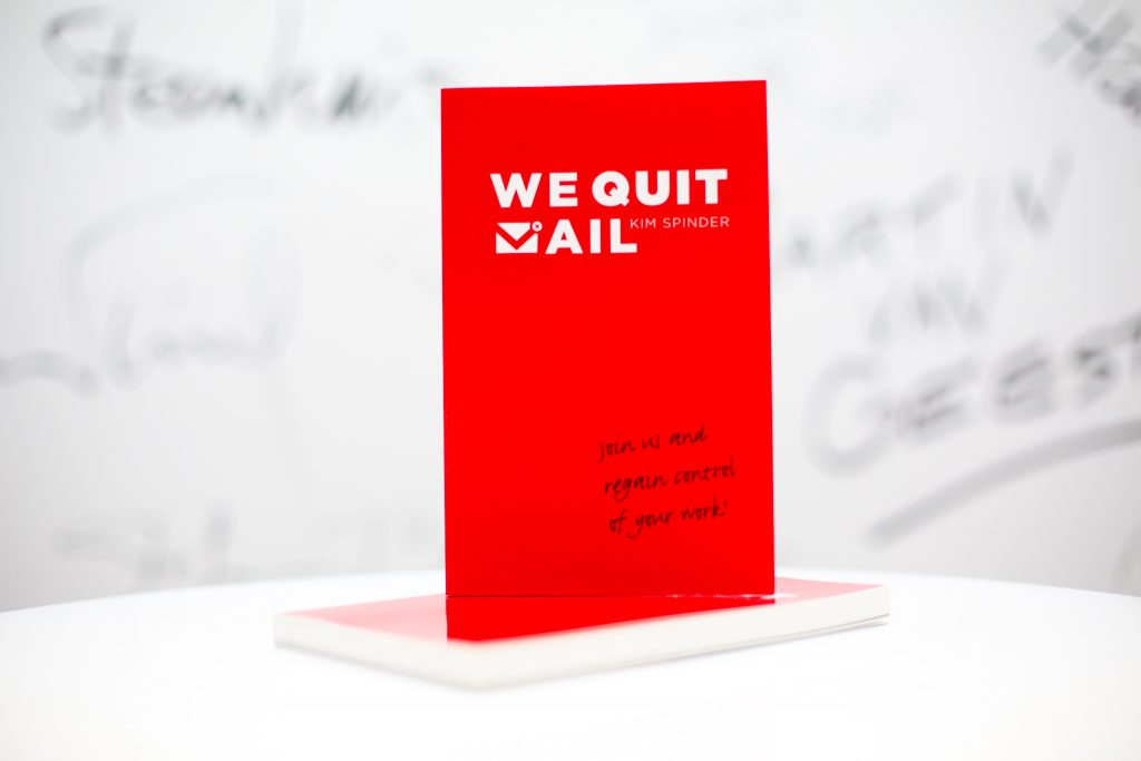 Book We Quit eMail