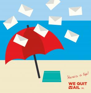 e-mail holiday